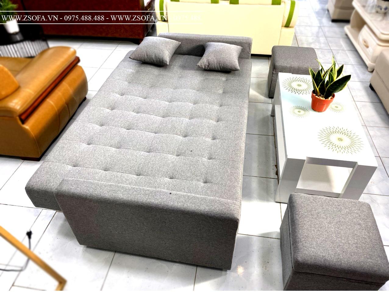 Ghế nệm giường xếp phòng khách tốt nhất